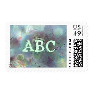 Outer Space. Postage Stamp