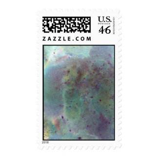 Outer Space. Postage Stamps