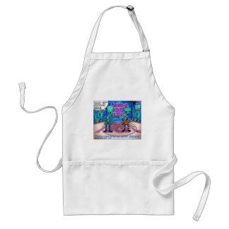 Outer Space Rock Bands Funny Gifts & Tees Adult Apron