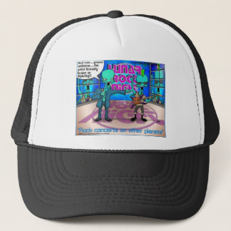 Outer Space Rock Bands Funny Gifts & Tees Trucker Hat