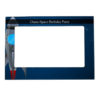 Outer Space Rocket Ship Magnetic Frame