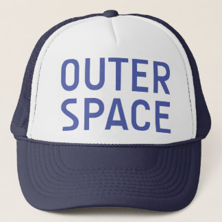 OUTER SPACE slogan hat