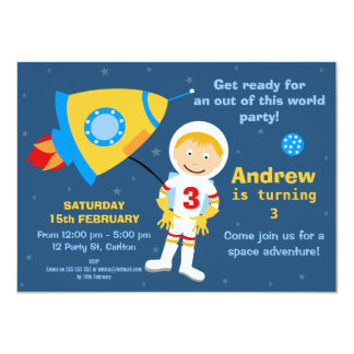 outer_space_spaceman_birthday_party_invitation r58fdd4b8dd3043149f7f5ee2cdca9cea_zk9li_324?rlvnet=1 space birthday invitations & announcements zazzle,Space Birthday Party Invitations