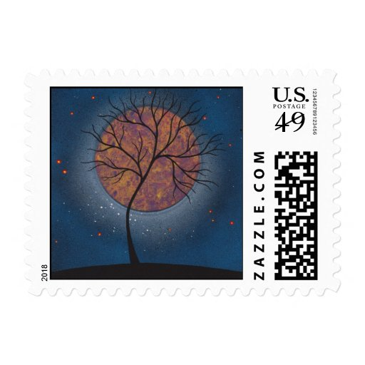 Outer Space Stamps