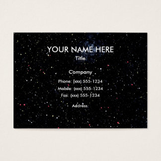 OUTER SPACE STARS EXPANSE design 3 ~ Business Card