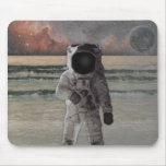 Outer Space Travel Adventure Mouse Pad