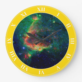 Outer Space Wall Clock