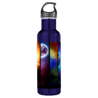 Outer Space Water Bottle