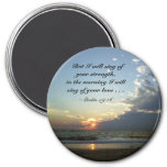 Outerbanks Morning 1 3 Inch Round Magnet