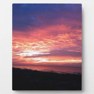 Outerbanks Sunrise Photo Plaque