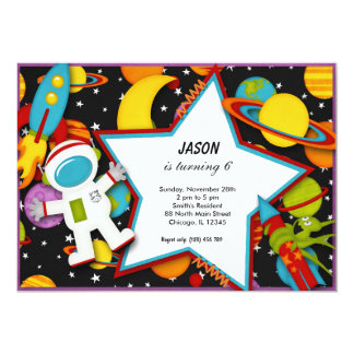 Outerspace Personalized Announcements