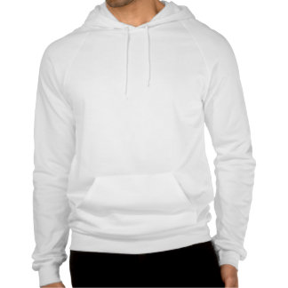 OUTFEST 2013 Men s White American Apparel Hoodie