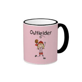 Outfielder-Girl Baseball Tshirts and Gifts Coffee Mug