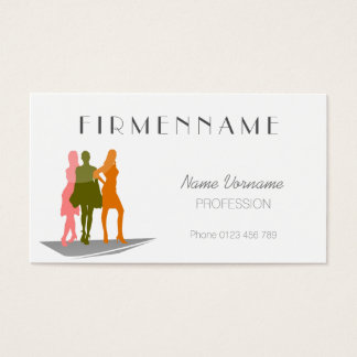 Outfit Business Card
