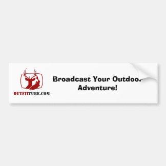 OutfitTube.com Bumper Sticker