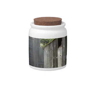 Outhouse Candy Jar