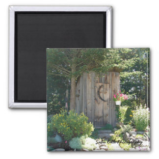 Outhouse in Maine Magnet