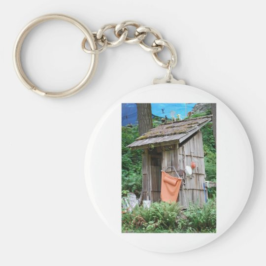 outhouse keychain
