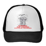 Outhouse May Contain Political Promises Mesh Hat