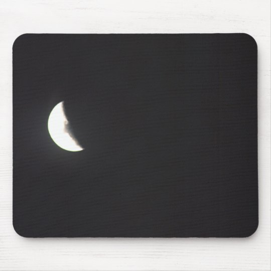 Outhouse Moon Mouse Pad
