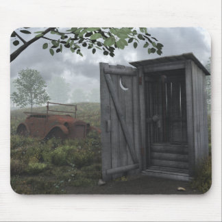 Outhouse Mouse Pad