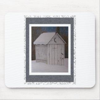 Outhouse Mousepad