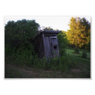 Outhouse Photo Print