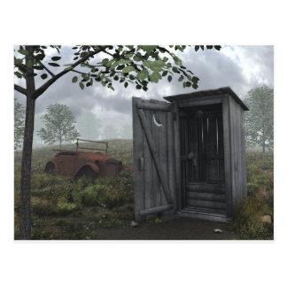 Outhouse Postcard
