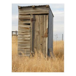 """""""Outhouse"""" Postcard"""