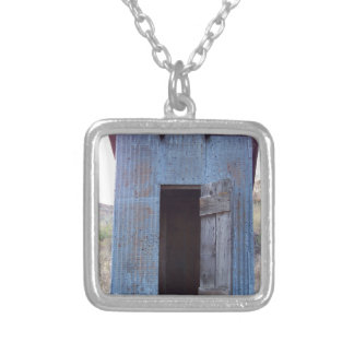 Outhouse Square Pendant Necklace