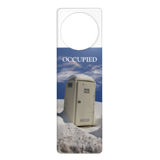 OutHouse Wi Fi ~ Door Hanger