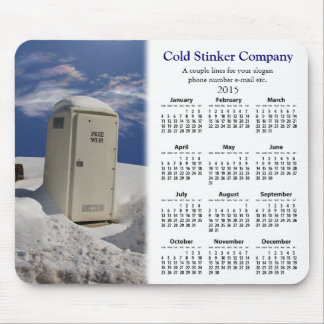 OutHouse WiFi promotional calendar ~ mousepad