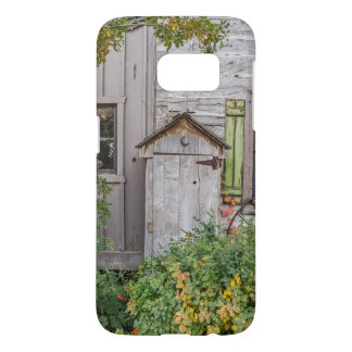 Outhouse with Rusty Crescent Moon Samsung Galaxy S7 Case