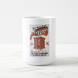 Outhouse WPA Poster Coffee Mug