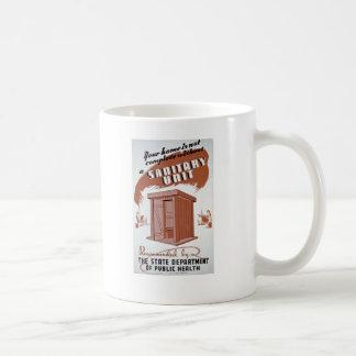 Outhouse WPA Poster Coffee Mug