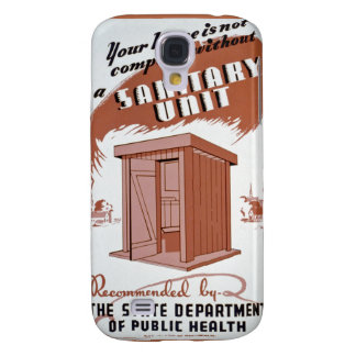 Outhouse WPA Poster Galaxy S4 Covers
