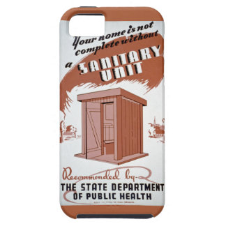 Outhouse WPA Poster iPhone 5 Case