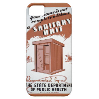 Outhouse WPA Poster iPhone 5 Cover