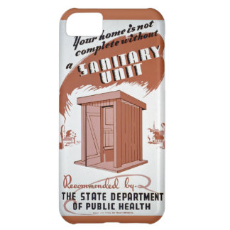 Outhouse WPA Poster iPhone 5C Case