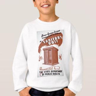 Outhouse WPA Poster Sweatshirt