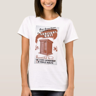 Outhouse WPA Poster T-Shirt