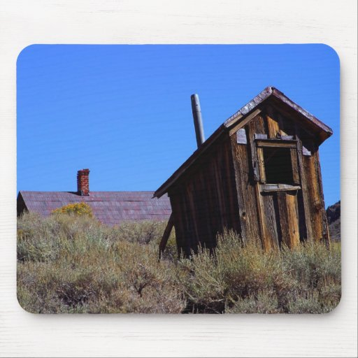 Outhouses Bodie Mouse Pads