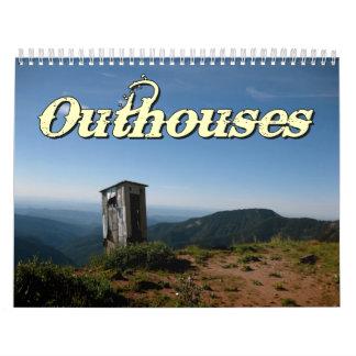 Outhouses Wall Calendar