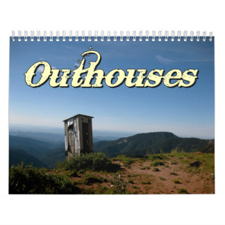 Outhouses Wall Calendar