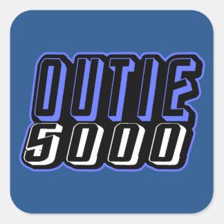 Outie 5000 square sticker