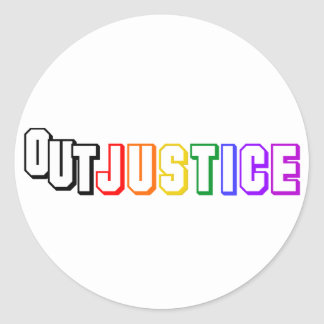 OutJustice Stickie Sticker