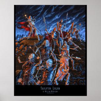 Outland Arts Skeleton Legion 16x20 POSTER