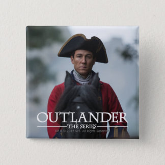 Outlander | Black Jack Randall Photograph Pinback Button