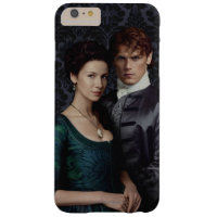 Outlander   Claire And Jamie Damask Portrait Barely There iPhone 6 Plus Case