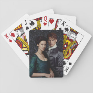 Outlander | Claire And Jamie Damask Portrait Playing Cards